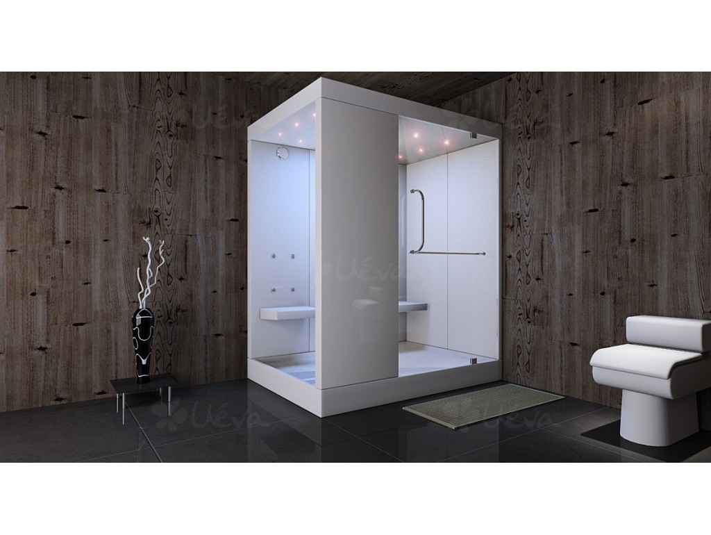 grande cabine de douche hammam. Black Bedroom Furniture Sets. Home Design Ideas